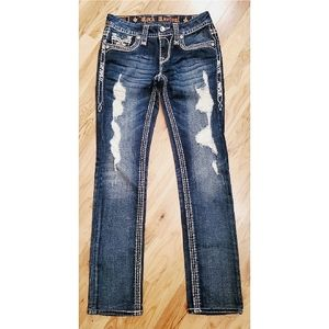 NWOT Rock Revival Felicia Cuff Straight 25